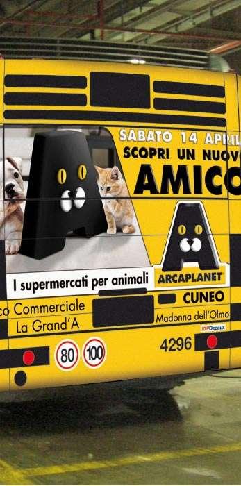 Campagna stampa Arcaplanet