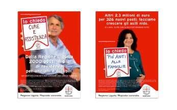 Campagna stampa Regione Liguria