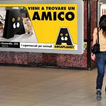 Affissione Arcaplanet